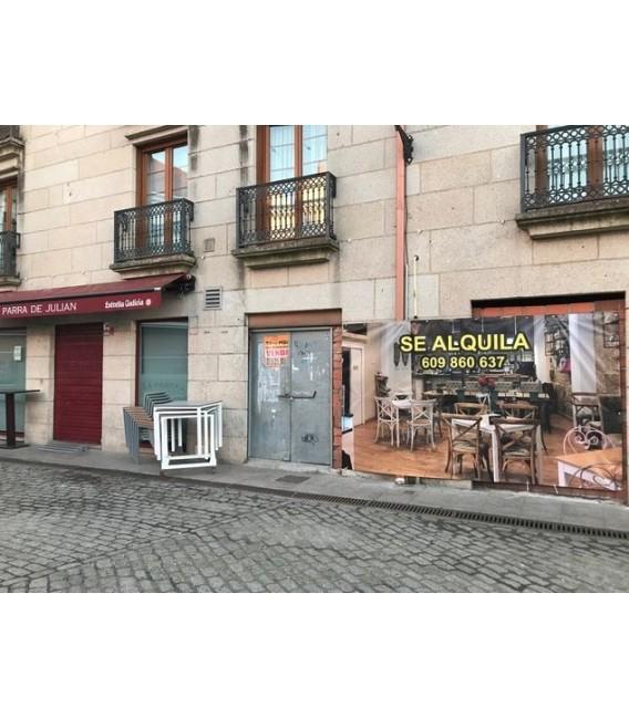 Alquiler Local Comercial en Vilagarcía de Arousa